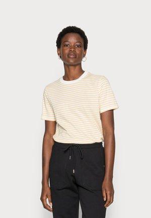 SLFMY PERFECT TEE BOX CUT - Print T-shirt - sahara sun