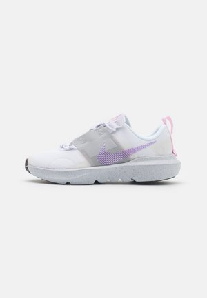 CRATER IMPACT UNISEX - Trainers - white/lilac-grey fog-pink foam