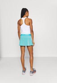ASICS - TENNIS PLEATS SKORT - Sports skirt - techno cyan - 2