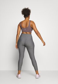 Under Armour - HI RISE LEGGINGS - Collant - charcoal light heather - 2