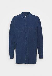 CLOSED - KARA - Button-down blouse - mid blue - 0