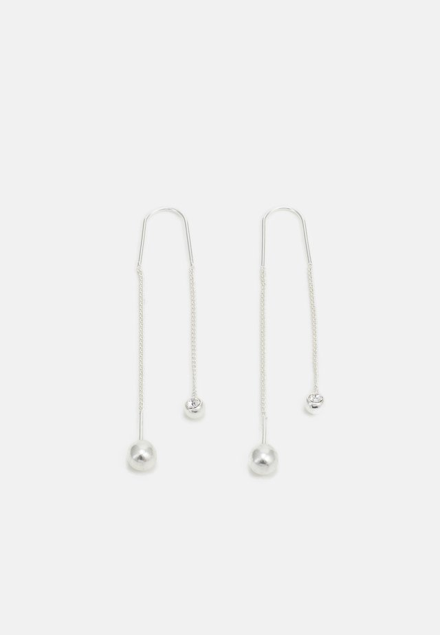 EARRINGS - Náušnice - silver-coloured