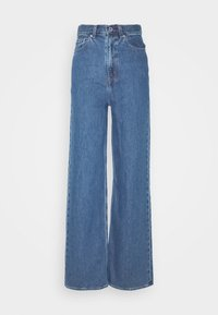 Levi's® - HIGH LOOSE - Flared Jeans - blue denim - 4