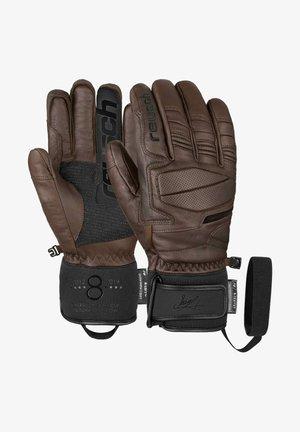 MARCEL HIRSCHER R-TEX® XT - Gloves - dark brown