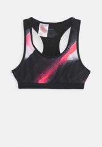 adidas Performance - YG UC - Sport BH - black/white/signal pink - 0