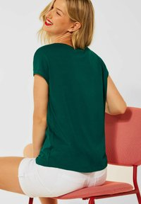 Street One - Basic T-shirt - grün - 2