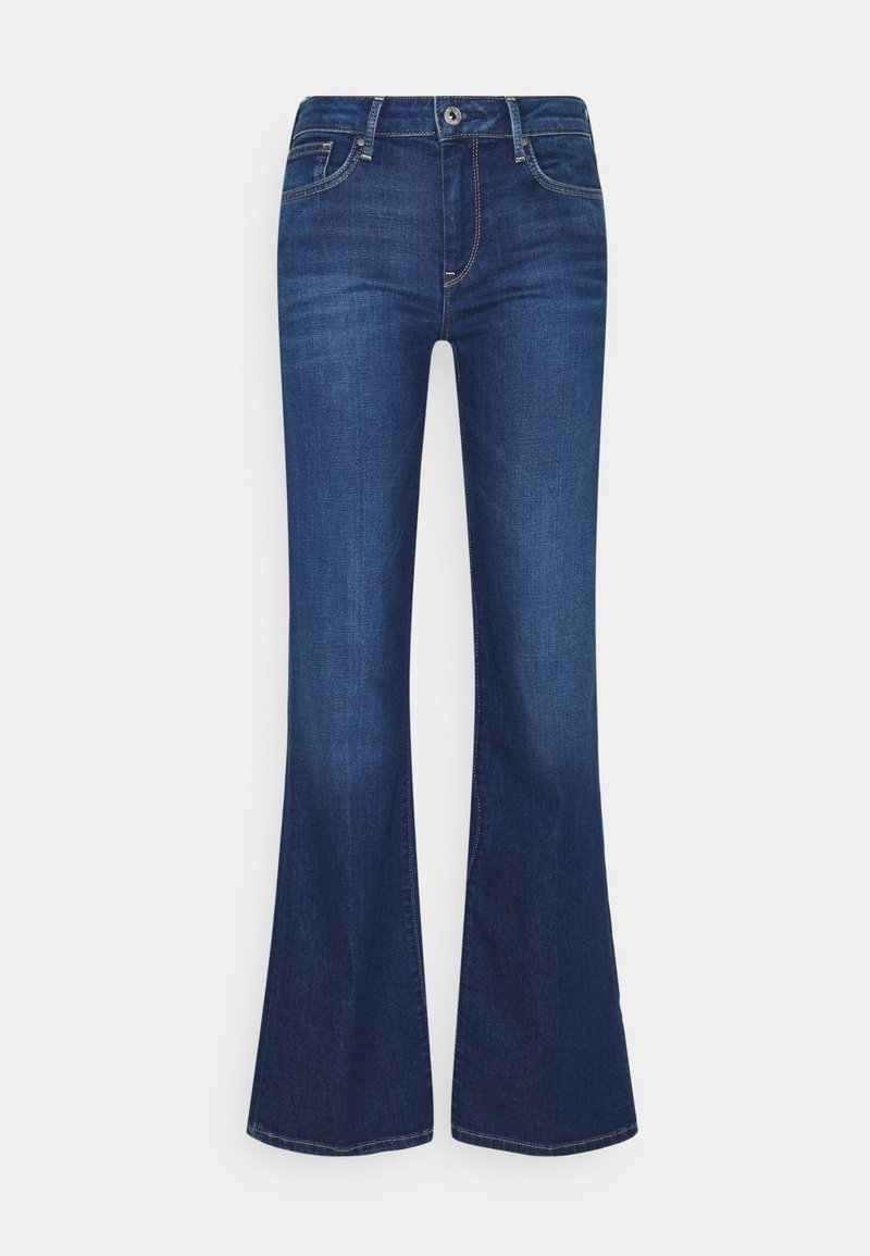 Pepe Jeans - AUBREY - Flared Jeans - blue denim