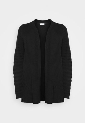 NMCARLY CARDIGAN - Neuletakki - black
