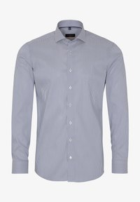 Eterna - SLIM FIT - Shirt - blau/weiß - 3