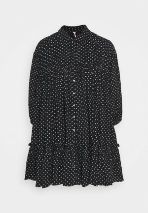 FULL SWING - Shirt dress - black