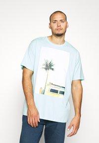 Jack´s Sportswear - SURF - Print T-shirt - hellblau - 0