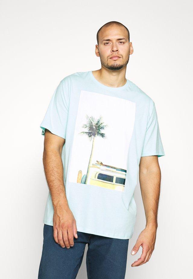 SURF - Camiseta estampada - hellblau