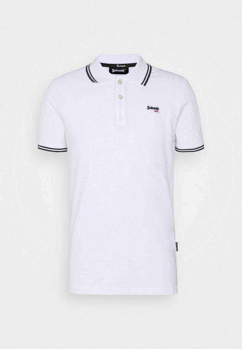 Schott - Polo shirt - white