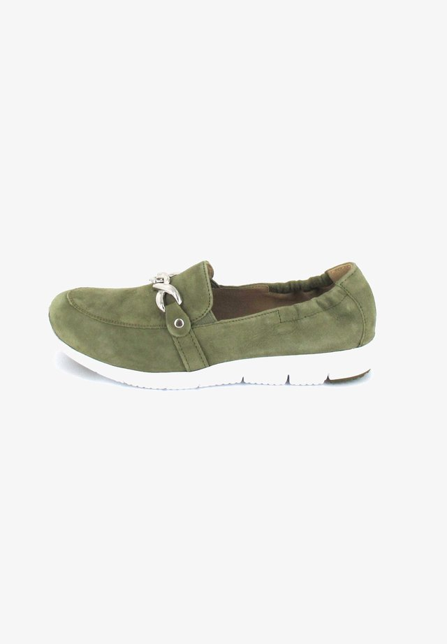 Sneakers laag - cactus suede
