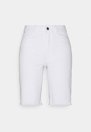 OBJMARINA NEW - Shorts di jeans - gardenia