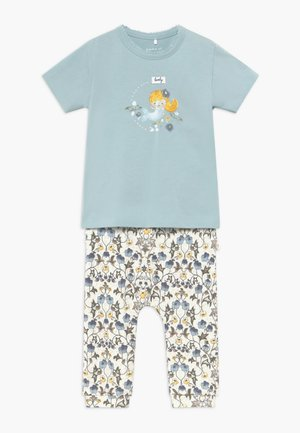 NBFFLORENTIN SET - Trousers - snow white