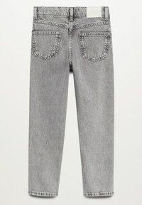 Mango - MOM - Jeans Straight Leg - grijs denim - 1