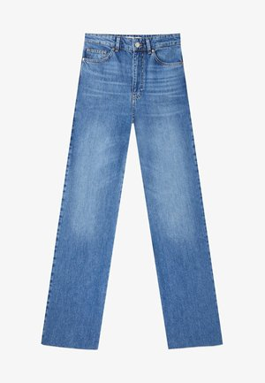 Jeansy Straight Leg - blue denim