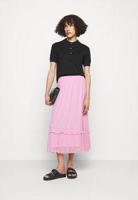 Bruuns Bazaar - THORA FLOUNCE SKIRT - A-lijn rok - pink lavender - 1