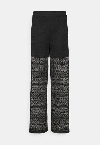 VITELLA PANT - Trousers - black