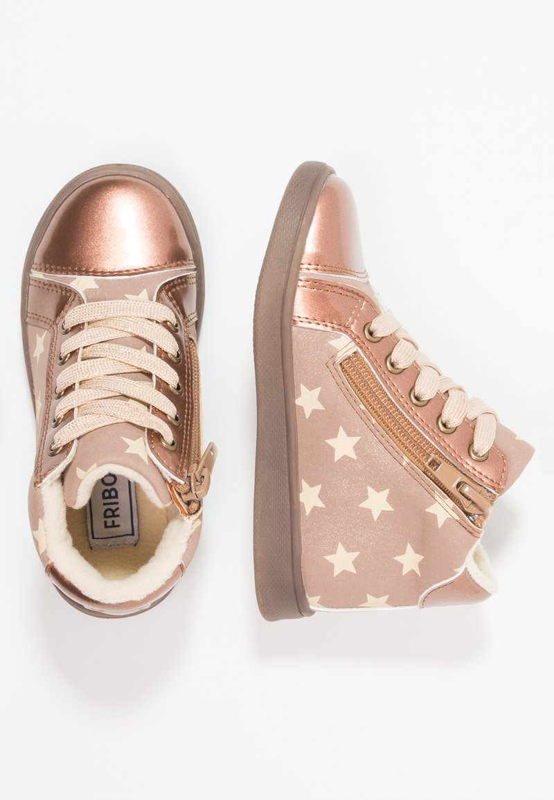 Friboo - High-top trainers - brown