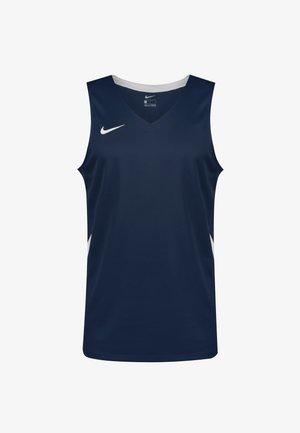 TEAM STOCK  - Sports shirt - obsidian / white