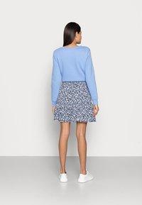 Lindex - SKIRT HILDA - Mini skirt - light dusty blue - 2