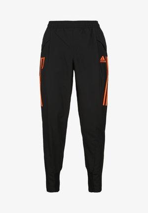 Pantalon de survêtement - black / app signal orange