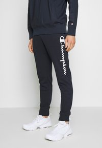Champion - CUFF PANTS - Verryttelyhousut - dark blue - 0