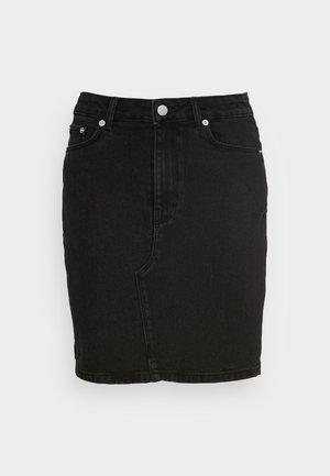 EIKE RIKKA SKIRT - Denim skirt - black wash
