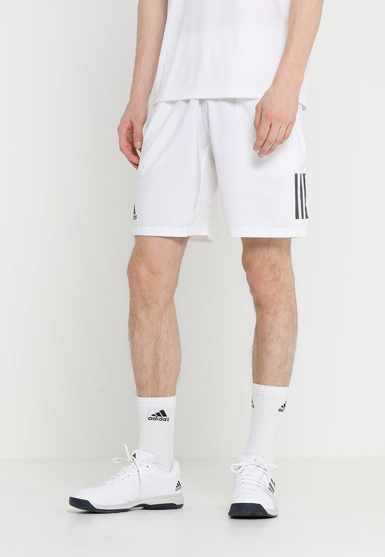 adidas Performance - CLUB SHORT - Sports shorts - white/black