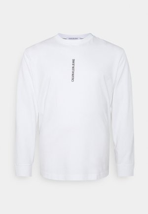 INSTIT GRAPHIC TEE - Long sleeved top - white