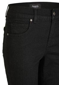 Angels - ANKLE ZIP SHINE' MIT MODISCHEN DETAILS - Jeans Skinny Fit - schwarz - 2