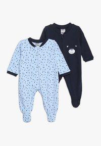 Jacky Baby - SCHLAFANZUG BOYS 2 PACK - Pyjamas - blue - 0