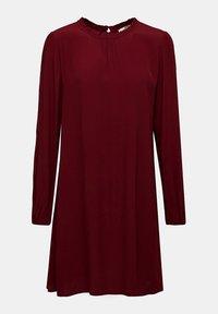 Esprit - Denní šaty - bordeaux red - 8