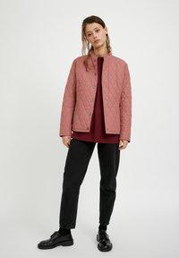 Finn Flare - Light jacket - dark pink - 1