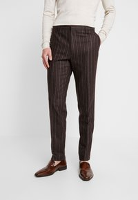 Shelby & Sons - HYTHE SUIT - Traje - brown - 4