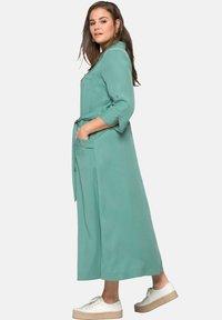 Sheego - Maxi dress - see green - 2