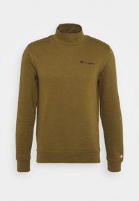 Champion - LEGACY MOCK TURTLE NECK LONG SLEEVES - Sweatshirt - olive - 4