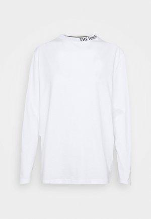 NEW ZUMU TEE - Long sleeved top - white