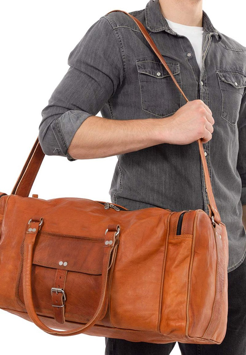 Gusti Leder - Weekend bag - brown