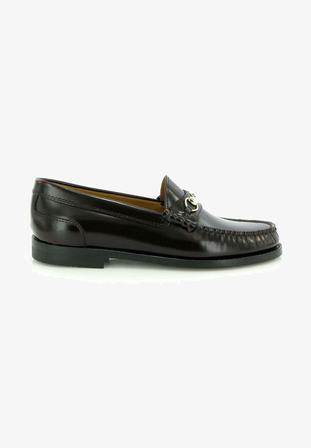 SARAH BUCKLE LOAFERS - Mocassins - burgundy