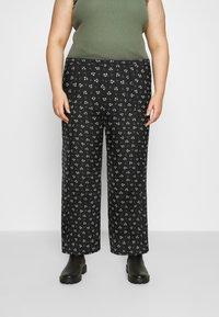 Glamorous Curve - Kalhoty - black - 0