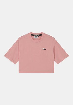 ANNA CROPPED  - T-shirt print - coral blush
