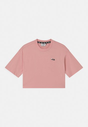 ANNA CROPPED  - Print T-shirt - coral blush