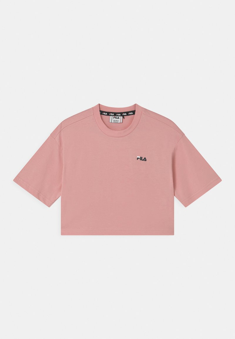 Fila - ANNA CROPPED  - Camiseta estampada - coral blush
