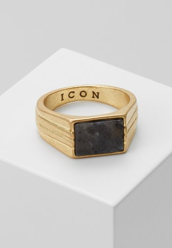 LINEAR - Ring - gold-coloured