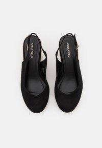 Anna Field - Korkeakorkoiset sandaalit - black - 5