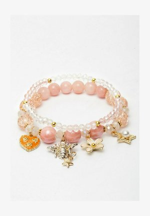 WITH PRETTY CHARM - Armband - pink