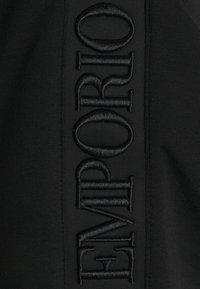 Emporio Armani - Felpa con zip - black - 5